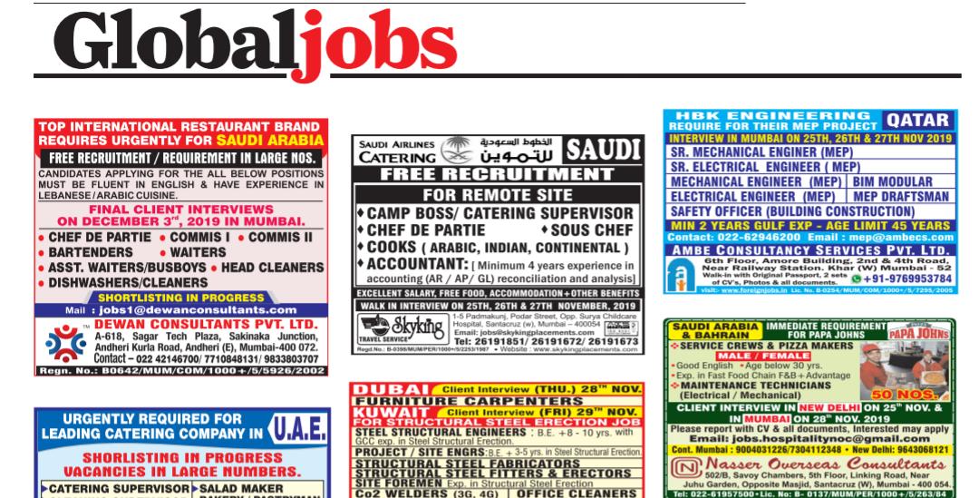 Free job alert ap 2020